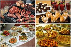 Variedade no Cardápio, só com Adriana do Buffet R P Eventos. Veja no Guia Novas Noivas:http://bit.ly/1T0ui0e