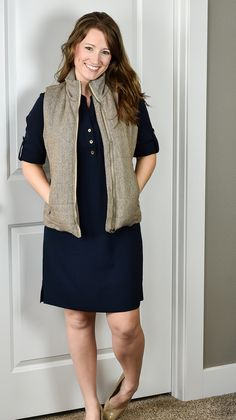 This seems like the perfect vest to put on for the winter to spring transition! Thanks @jbfantabulosity for posting this Tart: Skyros Quilted Wool Vest.