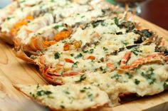 Lobster Thermidor à la Emeril Lagasse. Consider entertaining your dinner guests with this astounding dish!