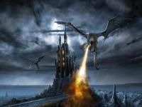 Free Fire Dragon Wallpaper just for you. Get your free wallpaper now. Thousands of high quality wallpapers. Put the Fire Dragon wallpaper on your desktop background for free. Fantasy Artwork, Fantasy Hd, Fantasy Castle, Fantasy Dragon, Fantasy World, Medieval Fantasy, High Fantasy, Fantasy Series, Fantasy Books
