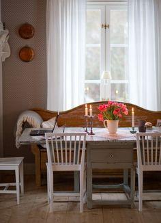 Country Interior, Home Interior, Interior Design, Swedish Cottage, Cottage Chic, Swedish Interiors, Decor Scandinavian, Interior Inspiration, Decoration