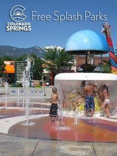 Splash Parks in Colorado Springs