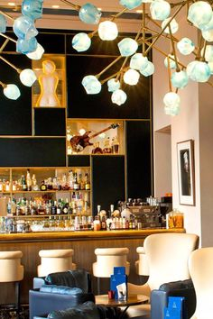 Enjoy pre-dinner drinks and appetizers at the hotel's stylish bar. InterContinental Amstel Amsterdam (Amsterdam, Netherlands) - Jetsetter
