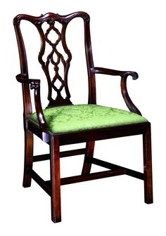 115A Chippendale Arm Chair