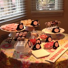 "Ballerina Birthday Party.... Color scheme similar to pony party.... Cake pops would make great ""apples""."