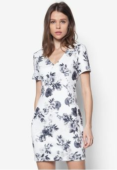 zalora v neck bodycon dress - Google Search