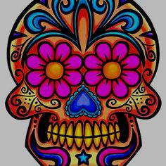 de la muerte skull flash - Google Search