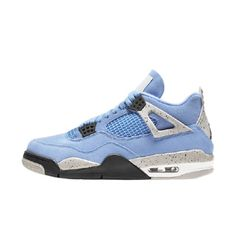 Jordan 4, Jordan Retro 4, Retro Jordan Shoes, Blue Jordans, Air Jordans, Mens Jordans, Retro Jordans, Shoes Jordans, Jordan Shoes Girls