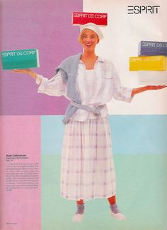 Glossy Sheen: 80's Esprit Advertisements - Round Two