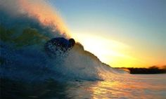 Pegando a onda perfeita