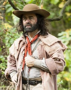 Mike Marunde as Kit Carson on Legends & Lies