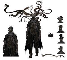 Snake Parasite from Bloodborne