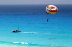 Parasailing in Mexico accomplished do before i die list