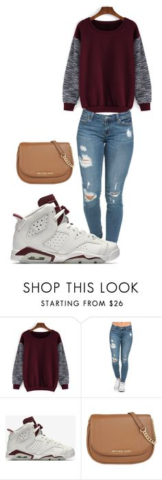 """Urban Outfitters"" by tamayaaa on Polyvore featuring NIKE, MICHAEL Michael Kors, women's clothing, women, female, woman, misses and juniors"