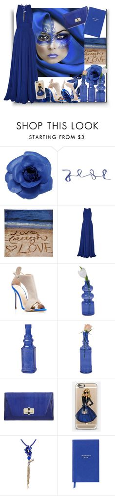 """""""Untitled #462"""" by sheri-gifford-pauline ❤ liked on Polyvore featuring Chanel, Kartell, Badgley Mischka, Giuseppe Zanotti, Cultural Intrigue, Diane Von Furstenberg, Casetify and Smythson"""