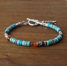 Women's Bracelets – Fine Sea Glass Jewelry Boho Jewelry, Pendant Jewelry, Antique Jewelry, Beaded Jewelry, Jewelry Bracelets, Handmade Jewelry, Jewelry Design, Women's Bracelets, Indian Jewelry