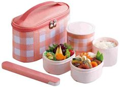 Zojirushi SZ-GD02PM Mini Bento Stainless Lunch Jar, Coral Pink - Akechi Grocery