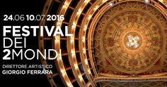 Spoleto59 Festival dei 2Mondi. 17 giorni di grande spettacolo, dal 24 giugno al 10 luglio, con oltre 50 titoli e più di 150 aperture di sipario: opera, musica, danza, teatro, numerosi eventi speciali e mostre d'arte