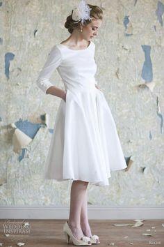 pocket wedding dress