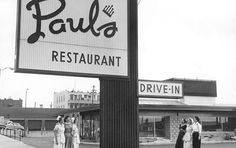 Paul's Crown House Restaurant on Douglas at Finlayson.  (Where Vancity Savings is now).