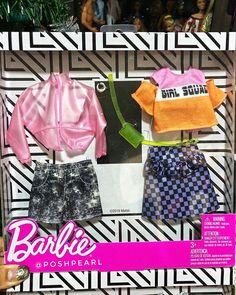 Barbie Kids, Barbie Doll Set, Baby Barbie, Barbie Food, Barbie Dream, Barbie House, Vintage Barbie Clothes, Doll Clothes Barbie, Barbie Playsets