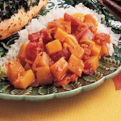 I made this yesterday and it turned out great!  i double and used 3 reg diced tomatoes and 1 can rotel tomatoes.  Something yummy to do with that butternut squash!