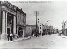 900 Block of Bay Street facing east, downtown, late 1800s