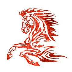 Flames-Stencils-Airbrush-Template-Flame-Horse-for-Tatoo-RC-Car-paint-Roller