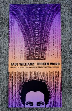 Saul Williams: Spoken Word by Danny Papageorge