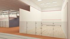 Take a look at the finish renderings. The new T Squash Center is bringing more Squash Courts to theCincinnaticommunity. Courts by McWil Courtwall  Renderings by Illustrate My Design