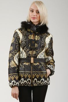 gorgeous printed puffer. Love it!