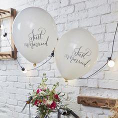 Leuke ballonnen voor een boho wedding <3