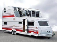 Curiosa caravana...
