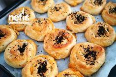Sodalı Patatesli Gül Böreği