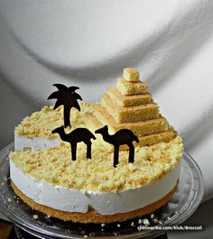 Pyramid Cake! How cool! - Visit now for 3D Dragon Ball Z compression shirts now on sale! #dragonball #dbz #dragonballsuper