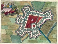 Breda, ca. 1690,  a city in the southern part of the Netherlands.