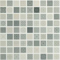mini mosaic style victorian patterns!