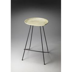 Metalworks Hamlin Backless Bar Stool