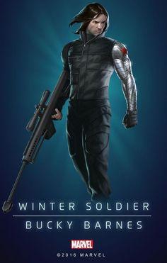"Marvel Comics: Winter Soldier ""Bucky Barnes"""