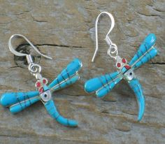 Turquoise Dragonflies!