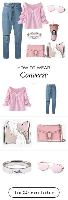 """""""Untitled #549"""" by izzystarsparkle on Polyvore featuring OneTeaspoon, WithChic, Madewell, Pink Box and Gucci"""