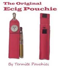 Zodiac Sign Ecig Pouch/Holder with Clip and Lanyard on Etsy, $13.99