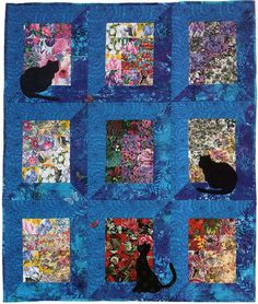 Quilt Inspiration: The Best of Cat Quilts! Part One