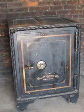 antique floor safe turned side table craigslist finds pinterest antique safe and storage. Black Bedroom Furniture Sets. Home Design Ideas