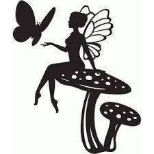 Resultado de imagen para free fairy silhouette