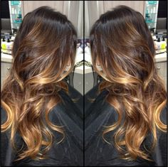 beauty_by_briza Ombré balayage on dark hair