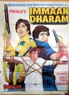 Immaan Dharam Bollywood Posters, Indian Movies, Rare Photos, Film Posters, Good Movies, Movie Stars, Cinema, Book Covers, Comic Book