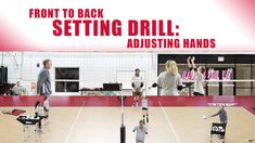 In this video, John Dunning teaches his players the difference in technique between a front set and a back set. Specifically, how a setter should be using their hands rather than their hips to perform a backset. To learn more on back setting technique, check out the video: