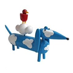 Blue Sky Doxie now featured on Fab.
