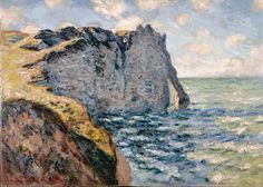 The Cliff of Aval, Etrétat - Claude Monet — Google Arts & Culture